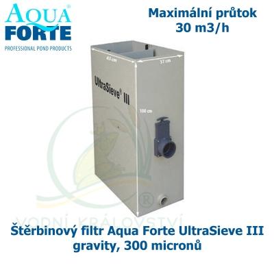 Štěrbinový filtr Aqua Forte UltraSieve III gravity, 300 micronů