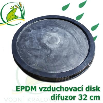 vzduchovací disk, difuzor průměr 32 cm