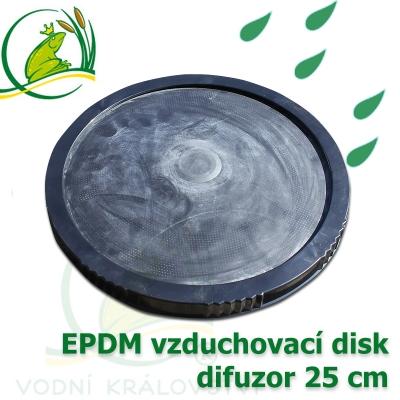 vzduchovací disk, difuzor