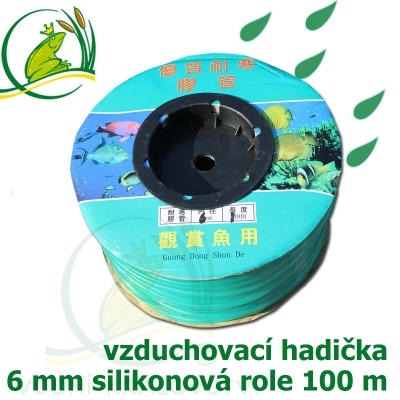 vzduchovací hadičky silikon