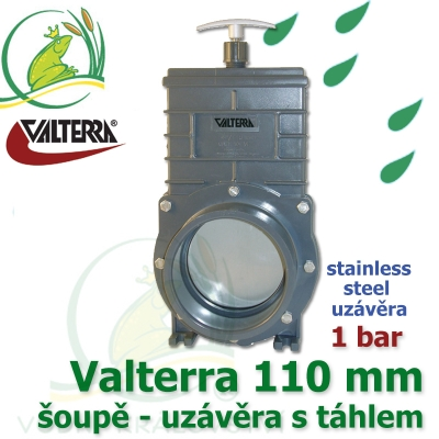 Valterra original 110 mm, nerez