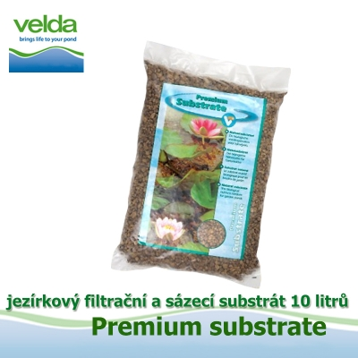 Jezírkový filtrační a sázecí substrát