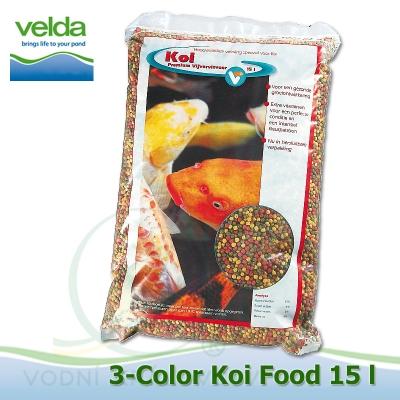 krmivo 3-color koi food