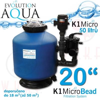 "Evolution Aqua K1 Micro Bead filtr 20"""