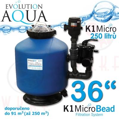 "Evolution Aqua K1 Micro Bead filtr 36"""