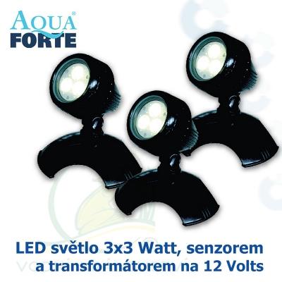 LED osvětlení 3x3 Watt