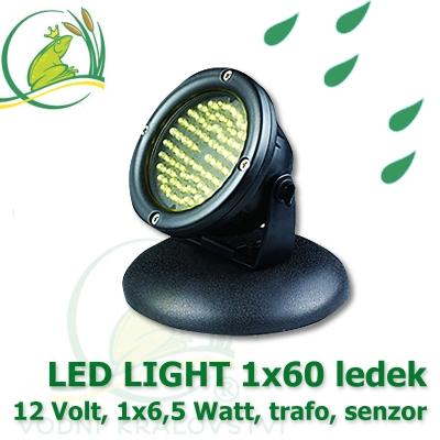 LED osvětlení 60 diod 6,5 Watt