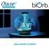 Akvárium 30 litrů, průměr 40cm, výška 42cm, stříbrná, sada topení - Oase biOrb CLASSIC 30 LED Thermo silver