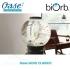 Akvárium 30 litrů, průměr 40cm, výška 42cm, stříbrná - Oase biOrb CLASSIC 30 MCR silver
