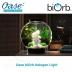 Akvárium 15 litrů, průměr 30cm, výška 32cm, stříbrná - Oase biOrb Silver 15 L EU Halogen Light